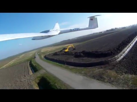 ASW 20 camera induced wing flutter