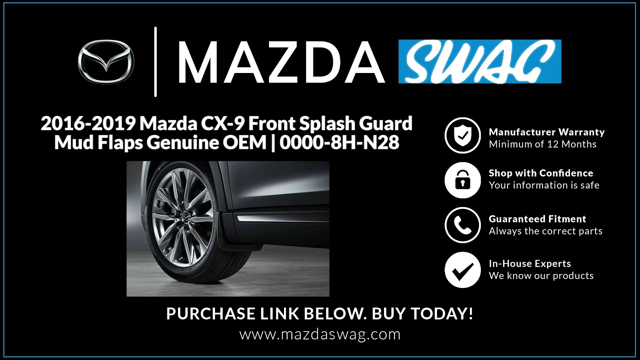 Front Engine Splash Shield For 2016-2017 Mazda CX-3 Plastic