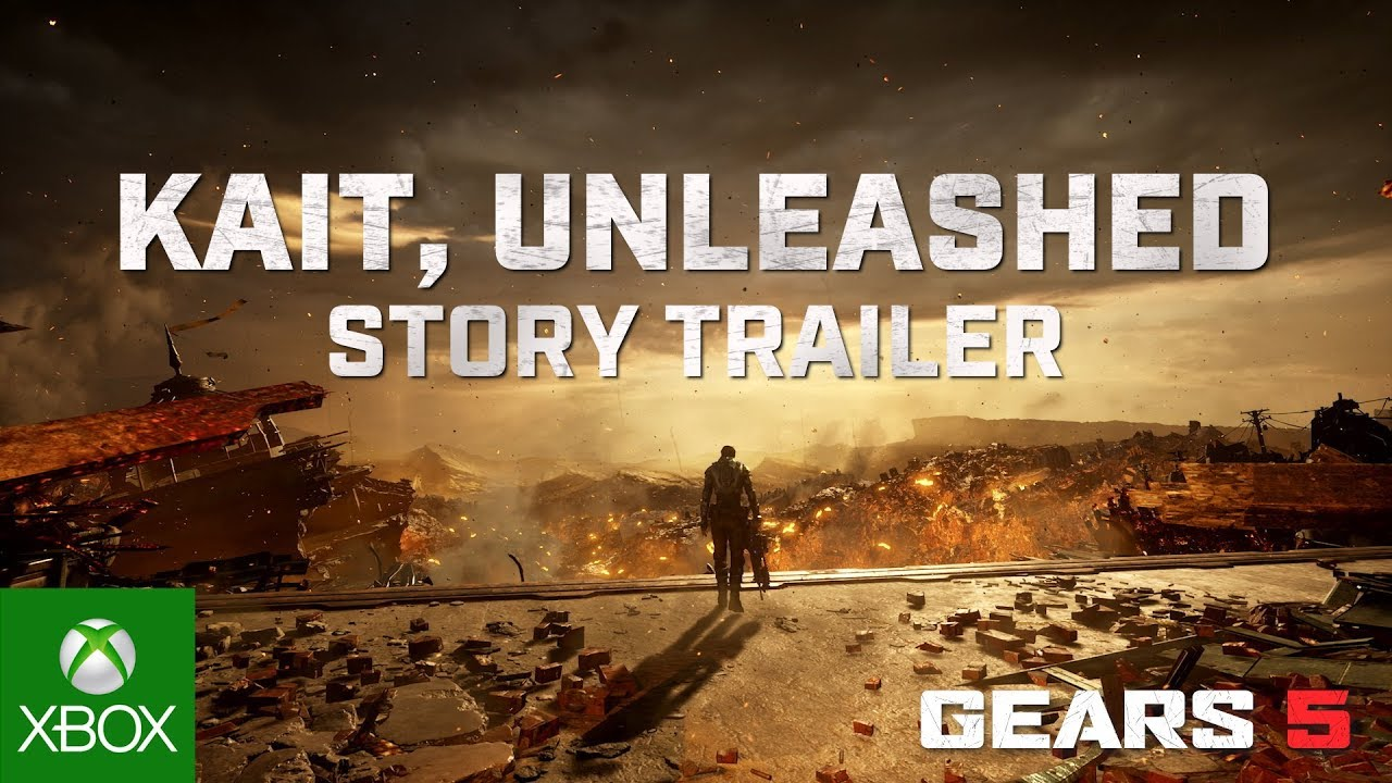 Gears 5 Story Trailer - Kait Unleashed thumbnail