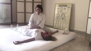 Un breve trattamento Ohashiatsu