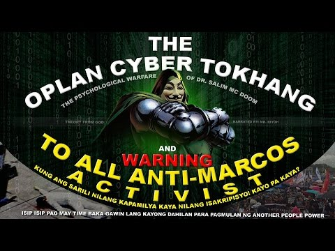 Cyber Tokhang and WARNING to Anti-Marcos Activist - Mr. Riyoh