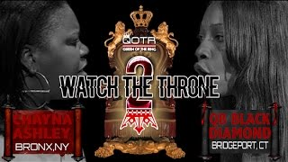 "QOTR ""WTT2"" CHAYNA ASHLEY vs QB BLACK DIAMOND (short trailer)"