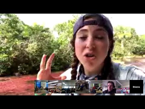 BGAN Hangout:Caño Cristales River, Colombia