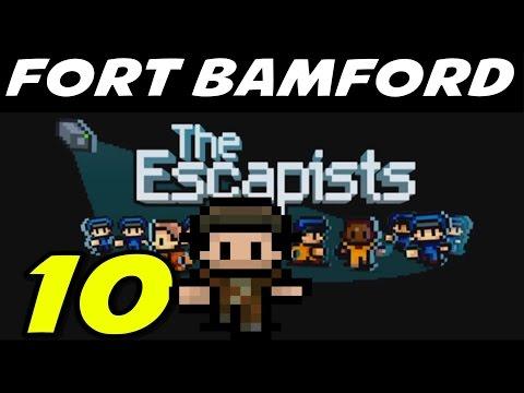 "The Escapists | S9E10 ""Prison Takeover Escape!!"" | Fort Bamford Gameplay Walkthrough"