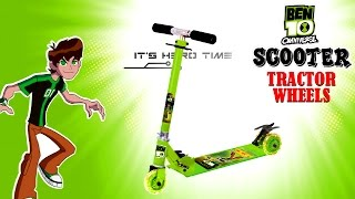 Toyzone Toy Scooter Ben 10 (with Tractor wheel)