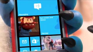 Meet Bumble - See his speed-dating Live Tiles on the new Windows Phone.