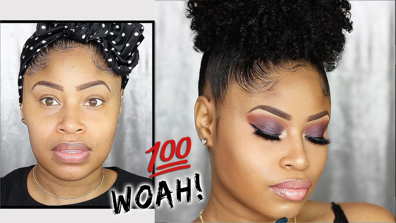 AMAZING MAKEUP TRANSFORMATION! ➟ Flawless, Glowy Night Out Look! 1