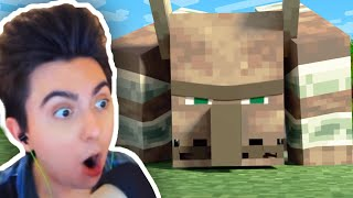 Reacciono a la Película VILLAGE RAID - Alex and Steve Life (Minecraft Animación)