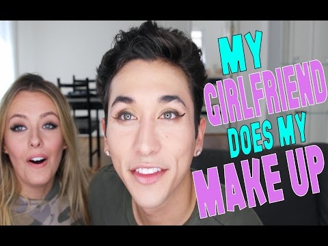 Thumbnail: My Girlfriend does my makeup | Brennen Taylor