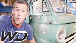 Ant Transforms This 50 Year Old Dodge A100 Into A Modern Day Surf Wagon | Wheeler Dealers