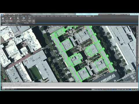 Autodesk Geolocation and Shrinkwrap tools