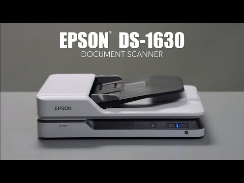 Epson DS-1630 Document Scanner | Take the Tour