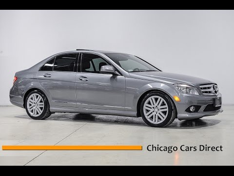 chicago cars direct reviews presents a 2008 mercedes benz. Black Bedroom Furniture Sets. Home Design Ideas