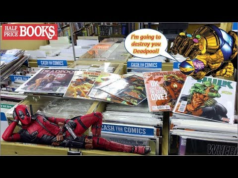 Half Price Books Comic Book Haul 100 | The Infinite Deadpool