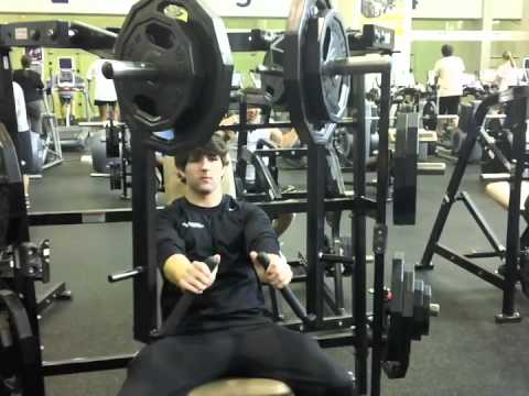 Crc How To Use The Hammer Strength Isolateral Wide Chest