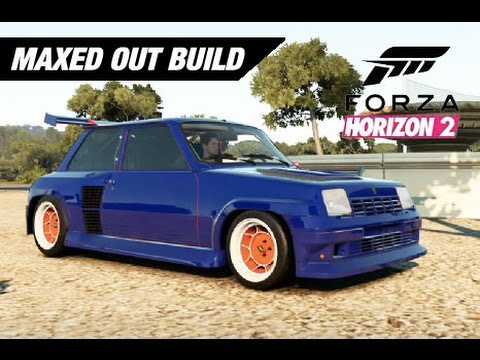 renault 5 turbo maxed out awd build forza horizon 2 youtube. Black Bedroom Furniture Sets. Home Design Ideas