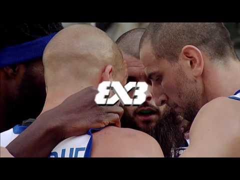 Serbia - France (18 : 13) - FIBA 3x3 European Championships (Men's Pool A)