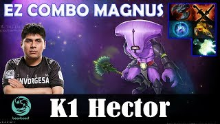 K1 Hector - Faceless Void Safelane | EZ COMBO MAGNUS | Dota 2 Pro MMR Gameplay