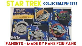 Star Trek   Collectible Pins Review   Microfleet   by Fansets