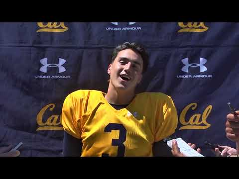 Cal Football Fall Camp - QB Ross Bowers 8/6/18