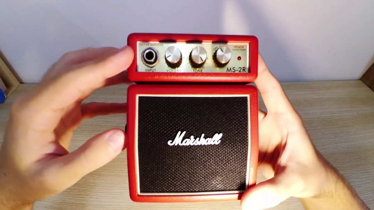 Marshall MS-2 Micro Amp Review - Marshall Stack Tone In Your Hand