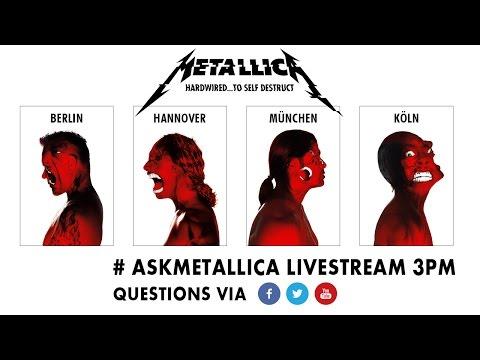#AskMetallica Livestream Fan Chat   Nov 16th 3pm CET Thumbnail image