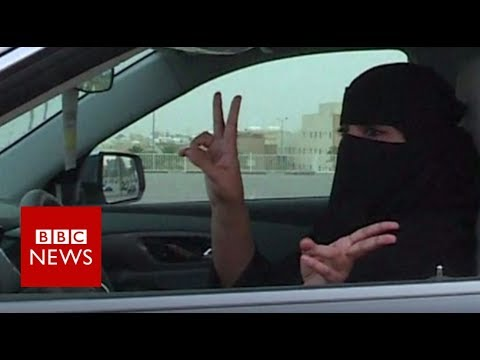 Saudi women prepare to hit the road - BBC News