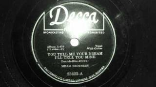 1946 (DECCA 23623-A) YOU TELL ME YOUR DREAM I