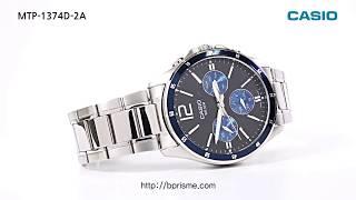 CASIO 카시오 남성 크로노그래프 시계 MTP-1374D-2A
