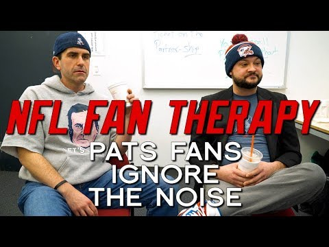 NFL FAN THERAPY: Pats Fans Ignore The Noise