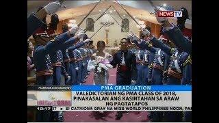 Valedictorian ng PMA class of 2018, pinakasalan ang kasintahan sa araw ng pagtatapos