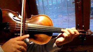 Bach Suite Cello Suite No. 1, Transcribed for Violin, Fine Old German Violin, Solo Sound Sample