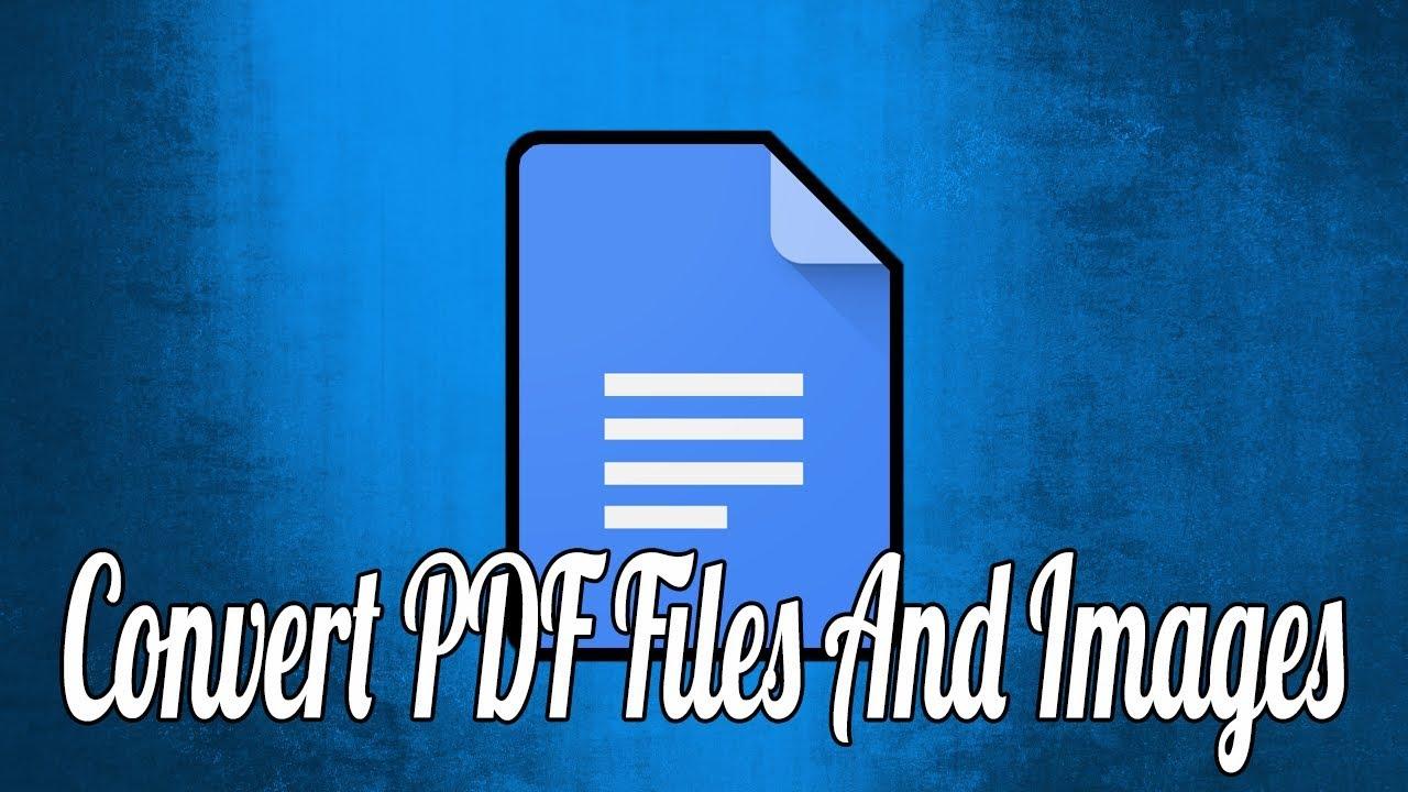 convert pdf to jpg google drive