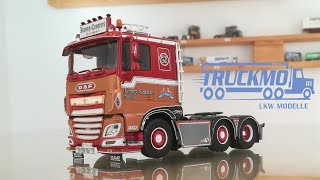 DAF XF Euro 6 Showtruck Ronny Ceusters 71191 Tekno Models