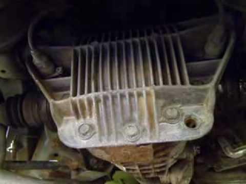 How To Change Transmission Oil >> Opel Omega B Caravan 2.5 V6 Differential Fluid Change - YouTube