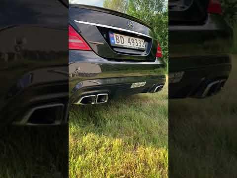 Mercedes S500 , 5.5 V8 Exhaust Sound