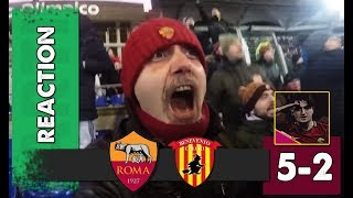ROMA BENEVENTO 5-2 GOAL REACTION