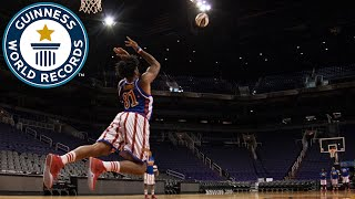 Longest Underhand Basketball Shot - Guinness World Records