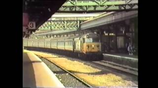 Trains at Exeter   Summer 1987