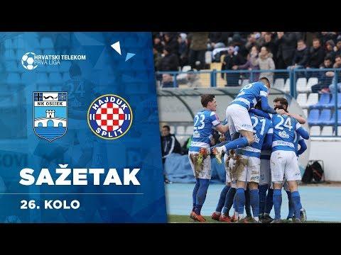 Sažetak: NK Osijek - HNK Hajduk