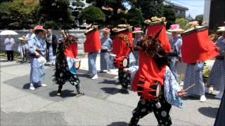古河雀神社の夏祭り.