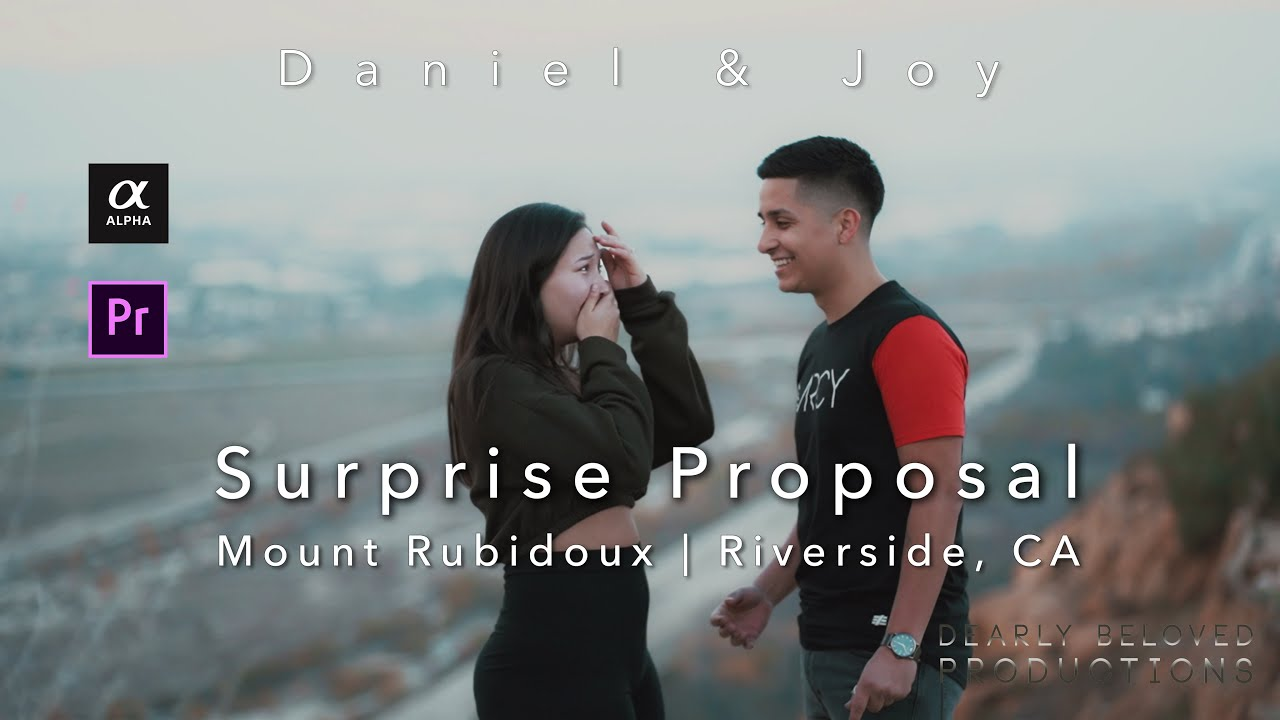 Mount Rubidoux Engagement Videography | Daniel & Joy Engagement Session | Riverside, CA