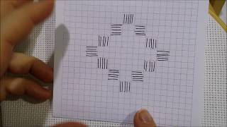 Hardanger basic preparation - Hand embroidery tutorial