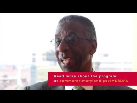 Maryland Small Business Financing- MSBDFA
