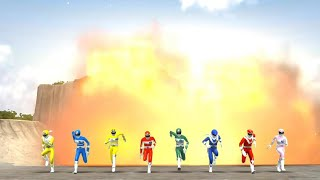 Super Sentai Legend Wars: Denjiman + Sun Vulcan (Cross Over Movie Part 4)