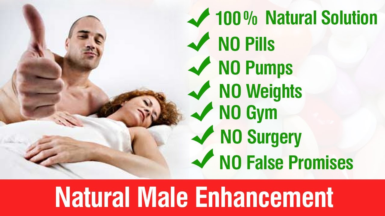 All natural penis enlargement pills