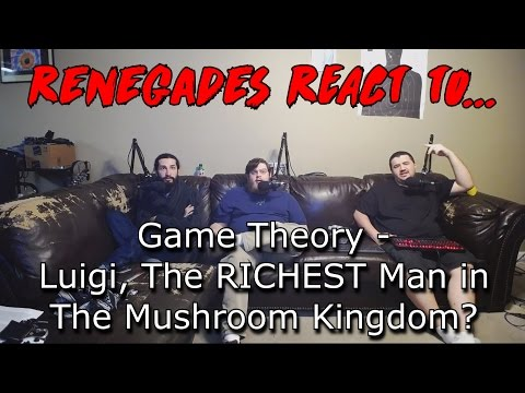 Renegades React to... Game Theory - Luigi, The RICHEST Man in the Mushroom Kingdom?