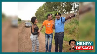 DeSagu is Under Arrest with Sloune