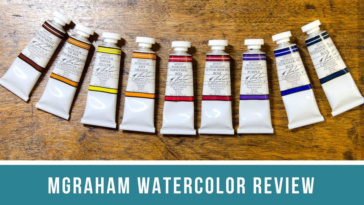 M Graham Watercolor Review
