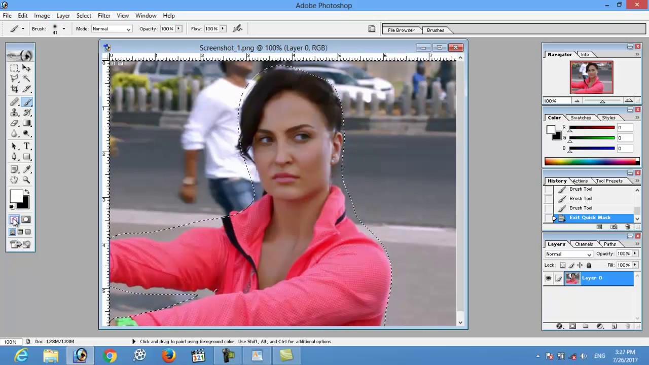 adobe photoshop 7 0 blur background in hindi urdu tutorial by adobe rh youtube com Adobe Photoshop 7.0 Setup Adobe Photoshop Logo